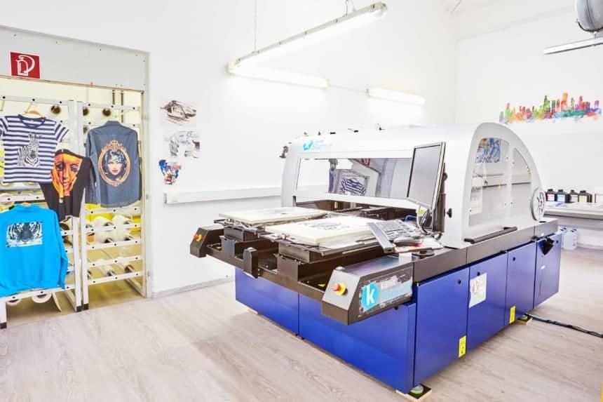 Digitaldruckmaschine Kornit Storm II