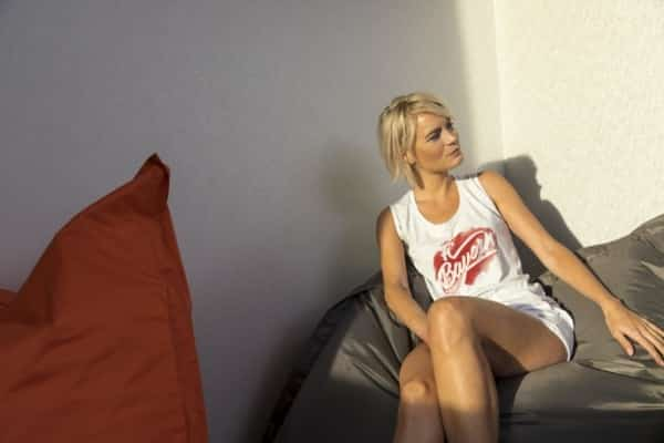 Damen Top aus der FC Bayern Aquarell Kollektion