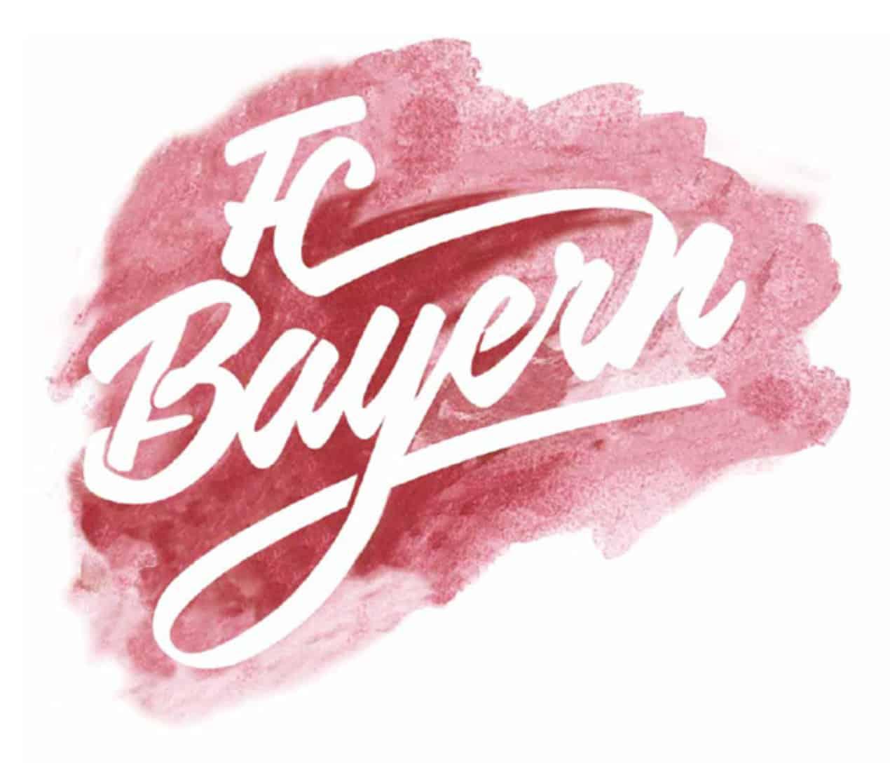 FC Bayern Aquarell