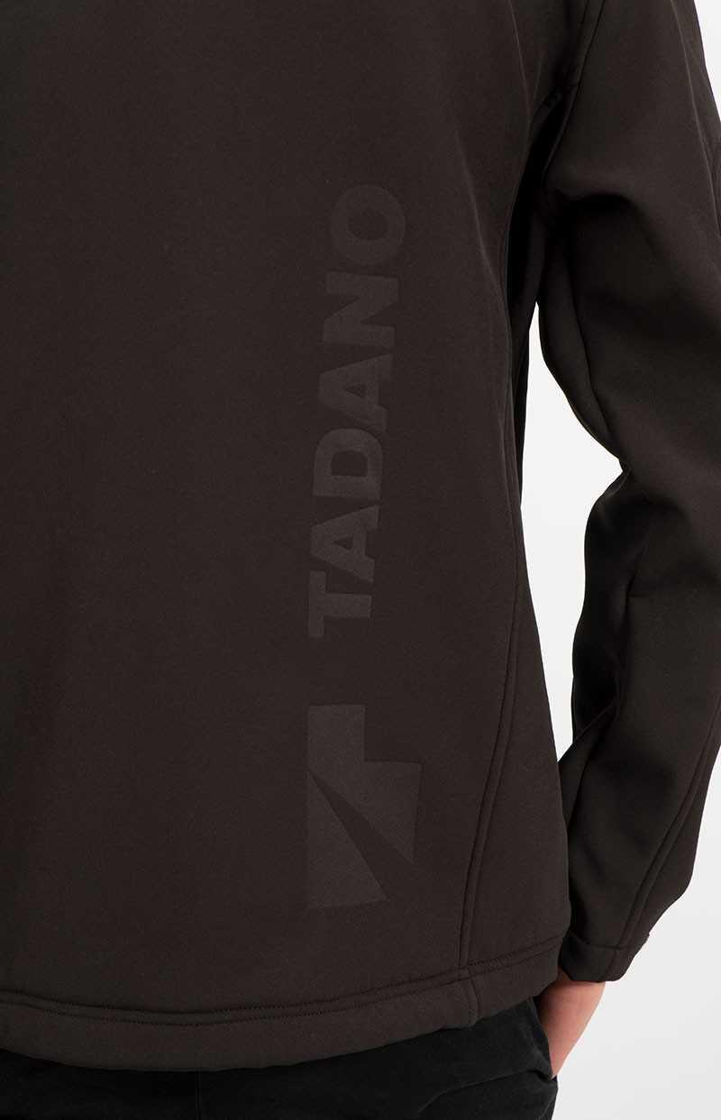Beispiel für Laserung auf einer Jacke