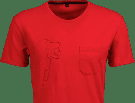 kurzfristige Prägung eines T-Shirts