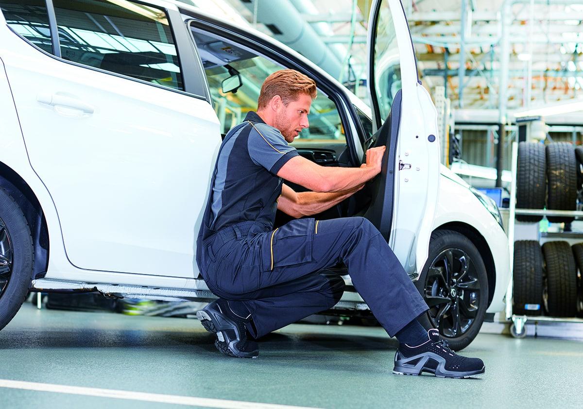 Opel Workwear im Einsatz