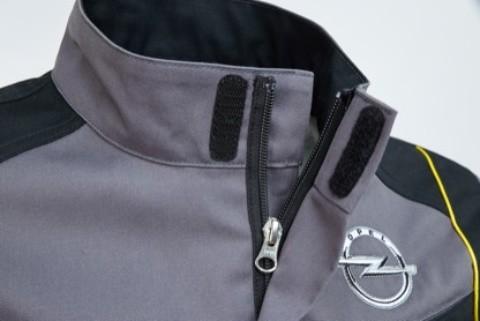Kragen Opel Workwear Jacke