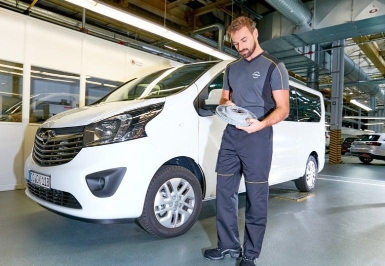 Detailansicht Opel Kollektion
