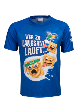 T-Shirt mit Sublimation