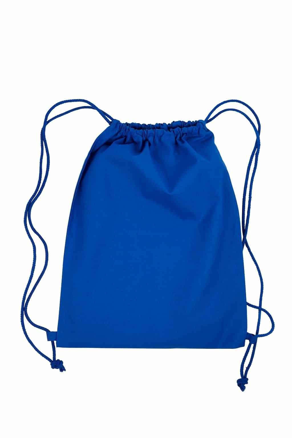 blauer Beutel