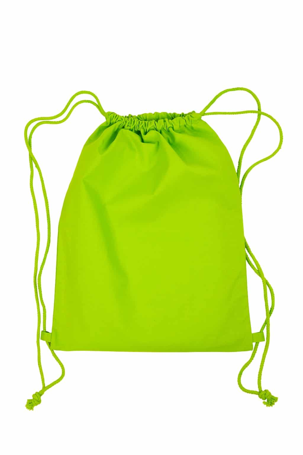 grüner Beutel