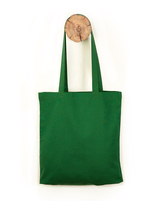 grüne Baumwolltasche