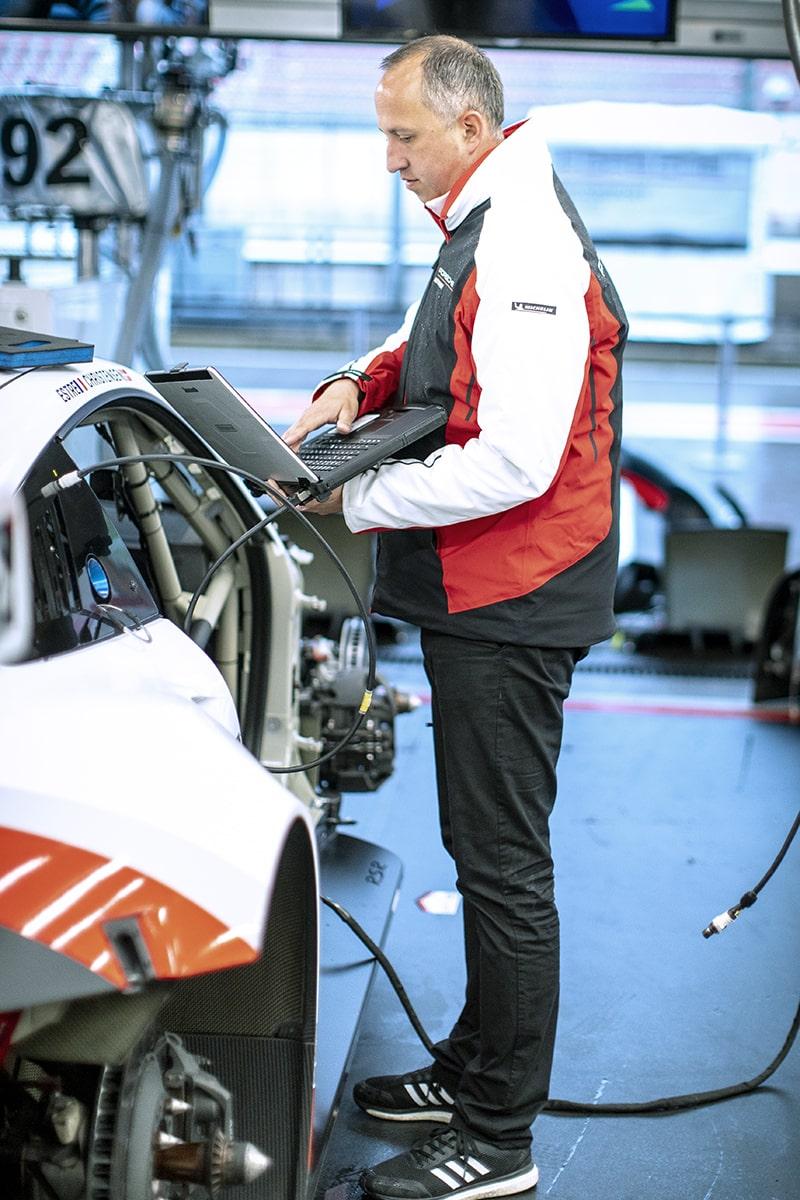 Porsche Arbeitskleidung