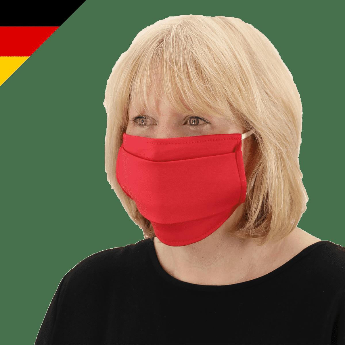 Maske mit Gummiband Made in Germany