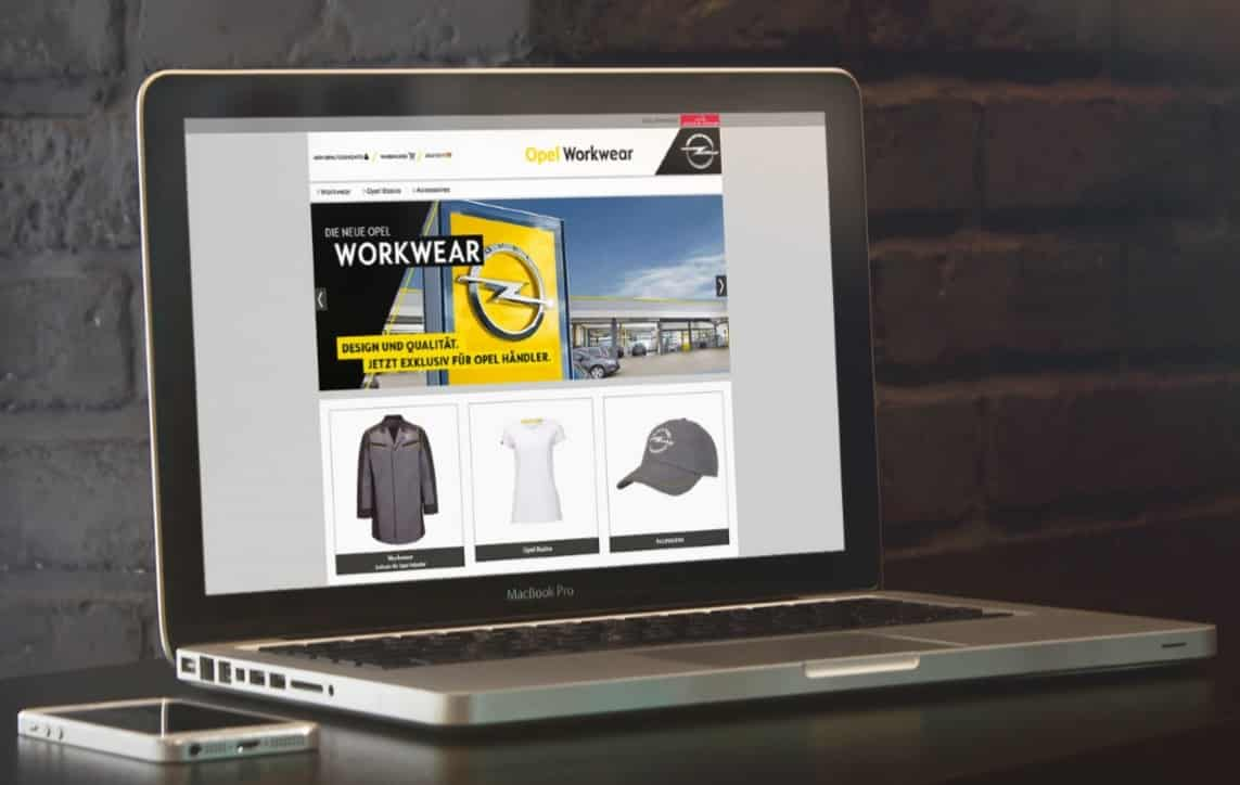 Opel Workwear Shop