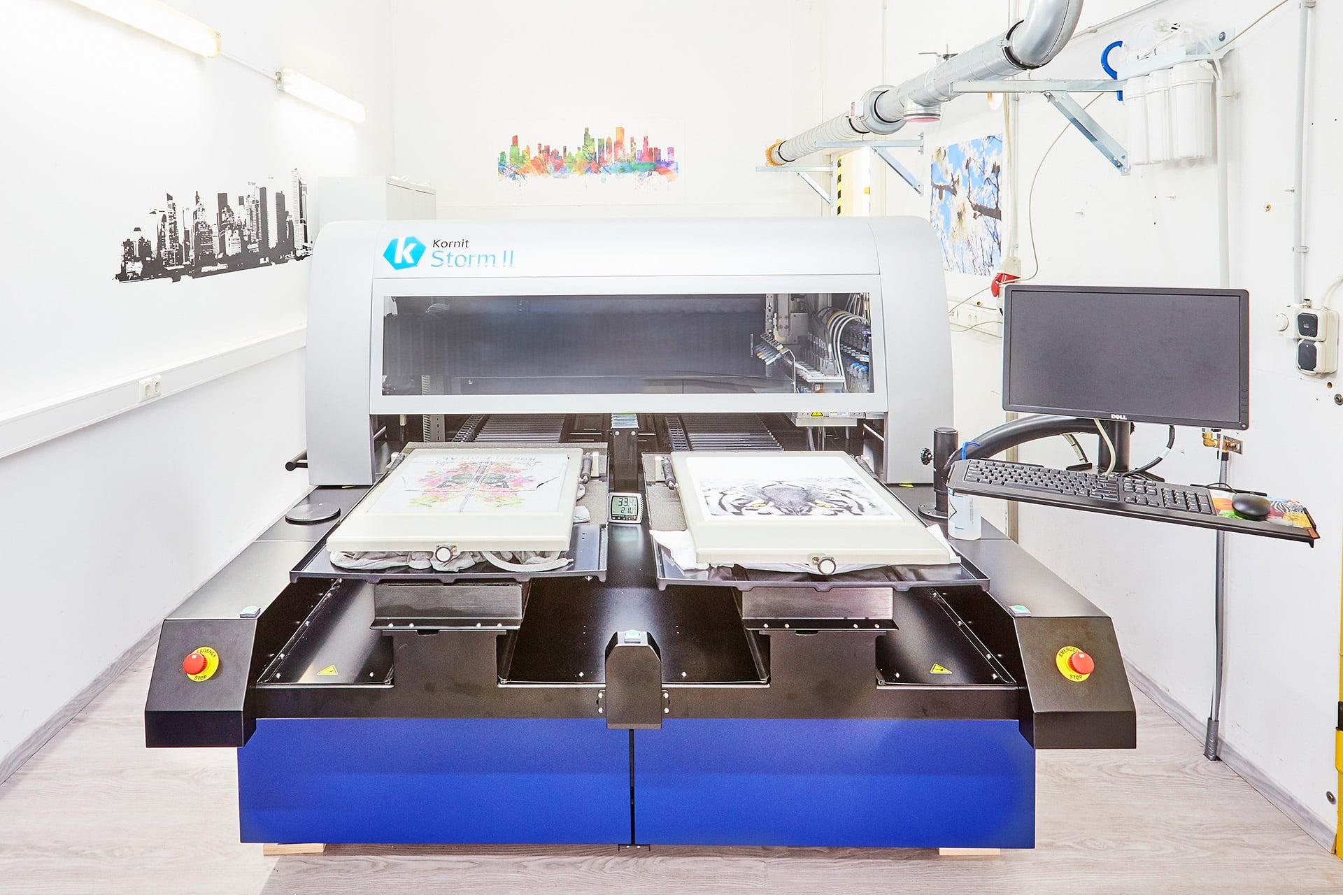 Maschine aus der on Demand Produktion